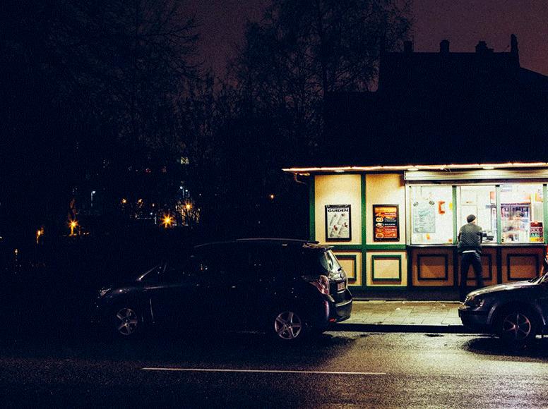 Gatukök i Helsingborg