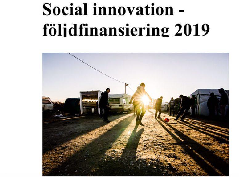 Social Innovation följdinvestering av Vinnova