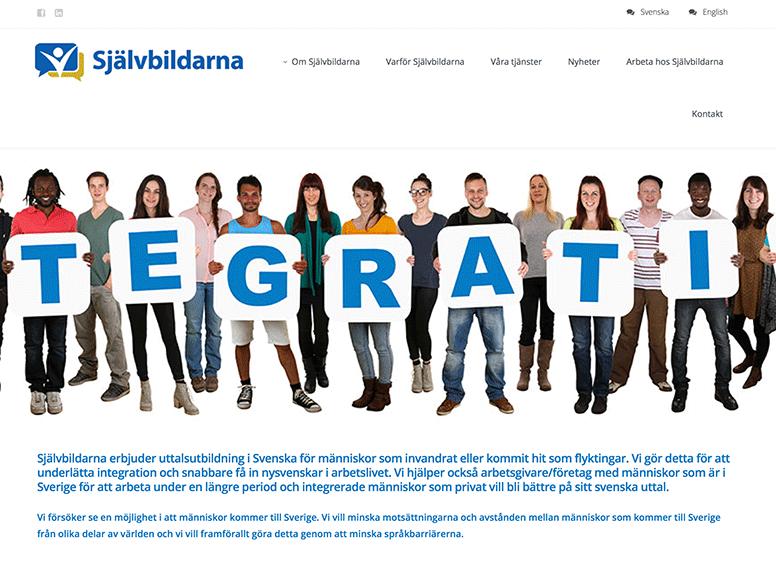 Självbildarna sajt